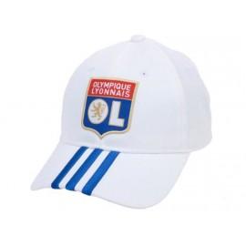 OL 3S CAP HOME WHI - Casquette Football OL Garçon/Homme Adidas