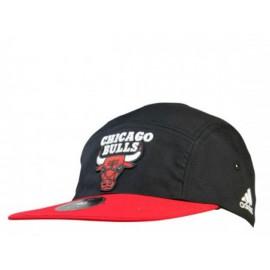 5P CAP BULLS RED - Casquette Bulls Basketball Homme Adidas