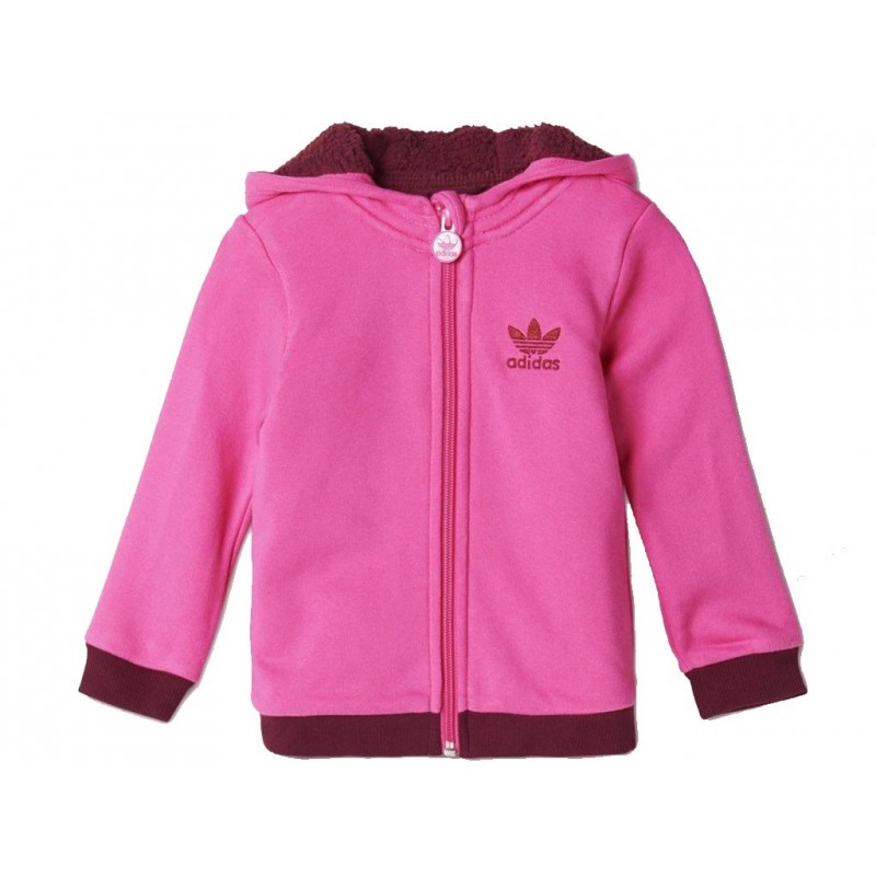 i teddy furhoody pin veste sherpa b b fille adidas vestes. Black Bedroom Furniture Sets. Home Design Ideas