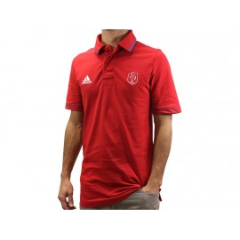 FFR AM POLO SS RED - Polo FFR Rugby Homme Adidas