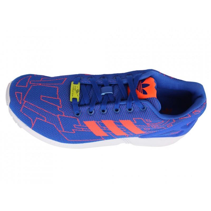 Baskets Zx Flux Weave BluChaussures Homme Adidas Yf7gyb6v