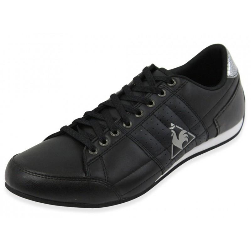 escrimilla w cuir blk chaussures femme le coq sportif. Black Bedroom Furniture Sets. Home Design Ideas