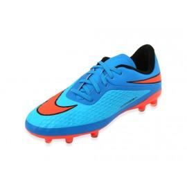 JR HYPERVENOM PHELON FG BLU - Chaussures Football Garçon Nike