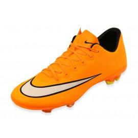 JR MERCURIAL VAPOR X FG ORA - Chaussures Football Garçon Nike