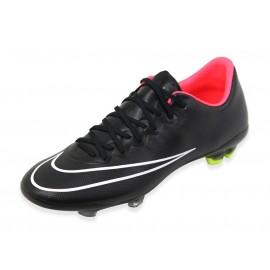 JR MERCURIAL VAPOR X FG BLK - Chaussures Football Garçon Nike