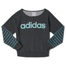YG W LIN SWEAT ANT - Sweat Fille Adidas