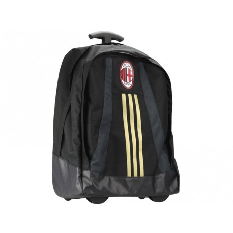acm trolley blk cartable roulettes ac milan football gar on adi. Black Bedroom Furniture Sets. Home Design Ideas