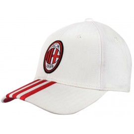 ACM 3S CAP BLC - Casquette Ac Milan Football Garçon/Homme Adidas