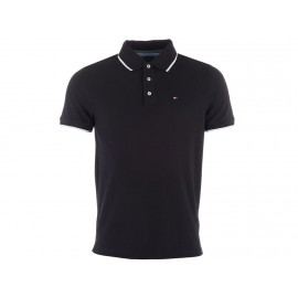 TM416 BLK - Polo Homme Tommy Hilfiger