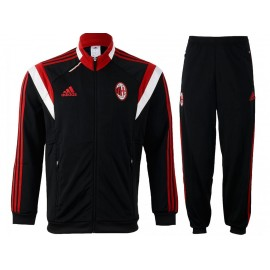 ACM PRE SUIT BLK - Survêtement Football Milan AC Homme Adidas