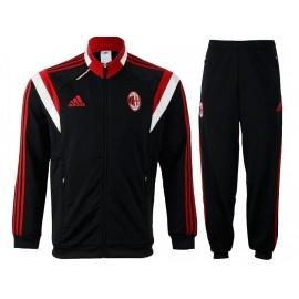 ACM PES SUIT Y BLK - Survêtement Football Milan AC Garçon Adidas