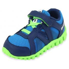 REALFLEX TRAIN 2.0 BLU - Chaussures Bébé Garçon Reebok
