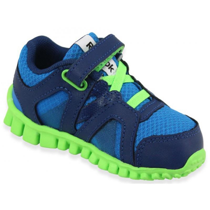 realflex train 2 0 blu chaussures b b gar on reebok b b du 16. Black Bedroom Furniture Sets. Home Design Ideas