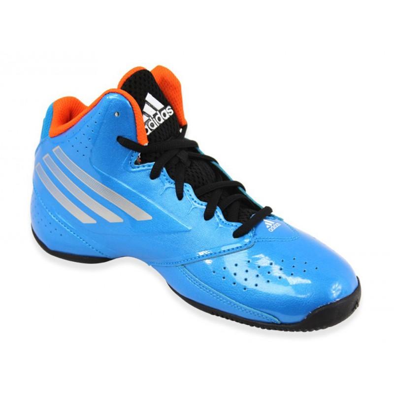3 SERIES 2014 NBA BLU Chaussures Basketball Garçon Adidas Chaus