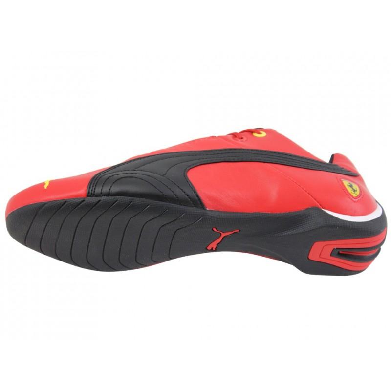 FUTURE CAT FERRARI LTHR SF10 RED Chaussures Homme Puma
