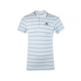 ESS YD POLO BLC - Polo Entrainement Homme Adidas