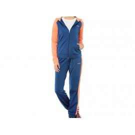TS TRICOT SUIT BLU - Survêtement Femme Adidas