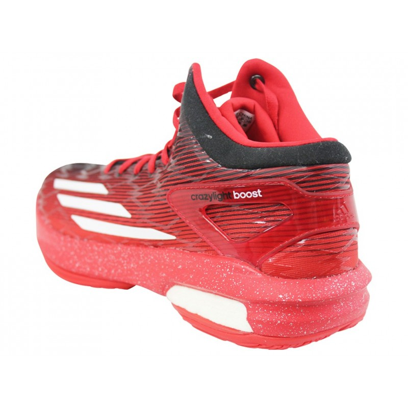 CRAZYLIGHT BOOST ROU Chaussures Basketball Homme Adidas Chaussu