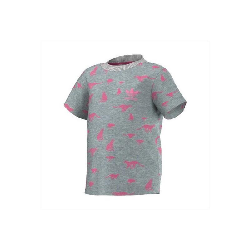 T Bébé Adidas Bb Shirts I Tee Gri Graphic Chee Fille Shirt 11Cqx4za