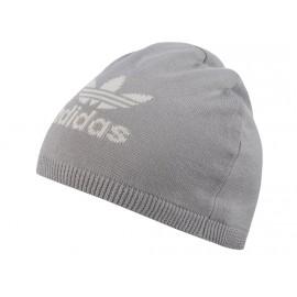 TREFOIL BEANIE GRY - Bonnet Homme/Femme Adidas