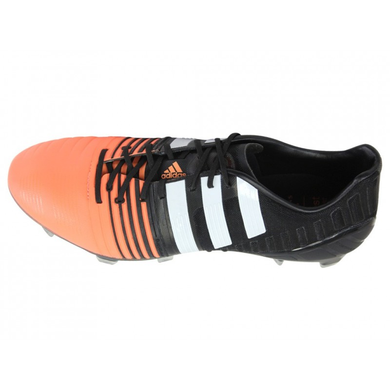 check out fbaac f4ba5 NITROCHARGE 1.0 FG BKS - Chaussures Football Homme Adidas