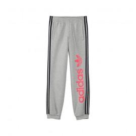 J FUN HFL TP G GRI - Pantalon Garçon Adidas