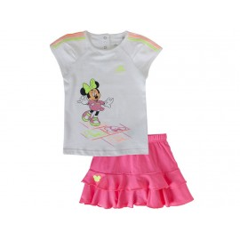BB TO DY MINNIE SET BLC - Ensemble Bébé Fille Adidas