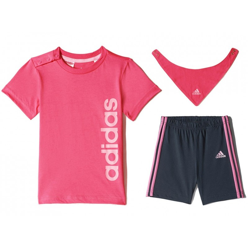 i j gift pack ros ensemble b b fille adidas t shirts. Black Bedroom Furniture Sets. Home Design Ideas