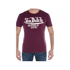 TEE SHIRT LOG BOR - Tee shirt Homme Von Dutch