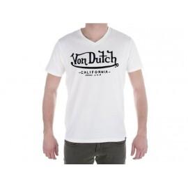 TEE SHIRT CALIFORNIA WHI - Tee shirt Homme Von Dutch