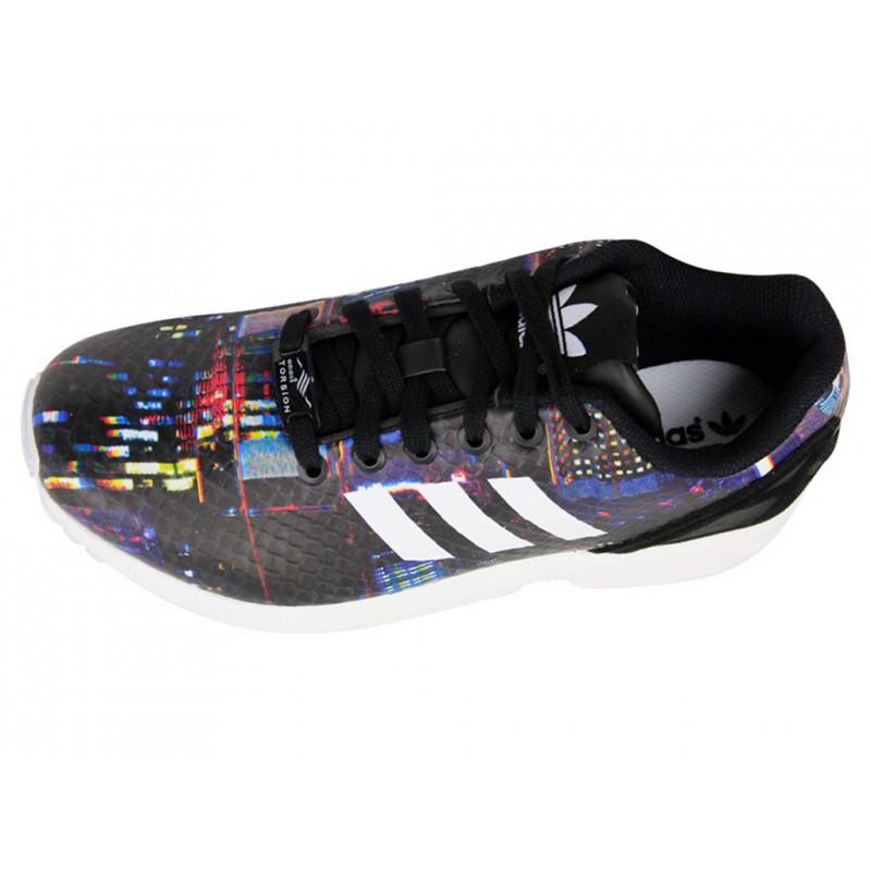 ZX FLUX W BLK - Chaussures Femme Adidas