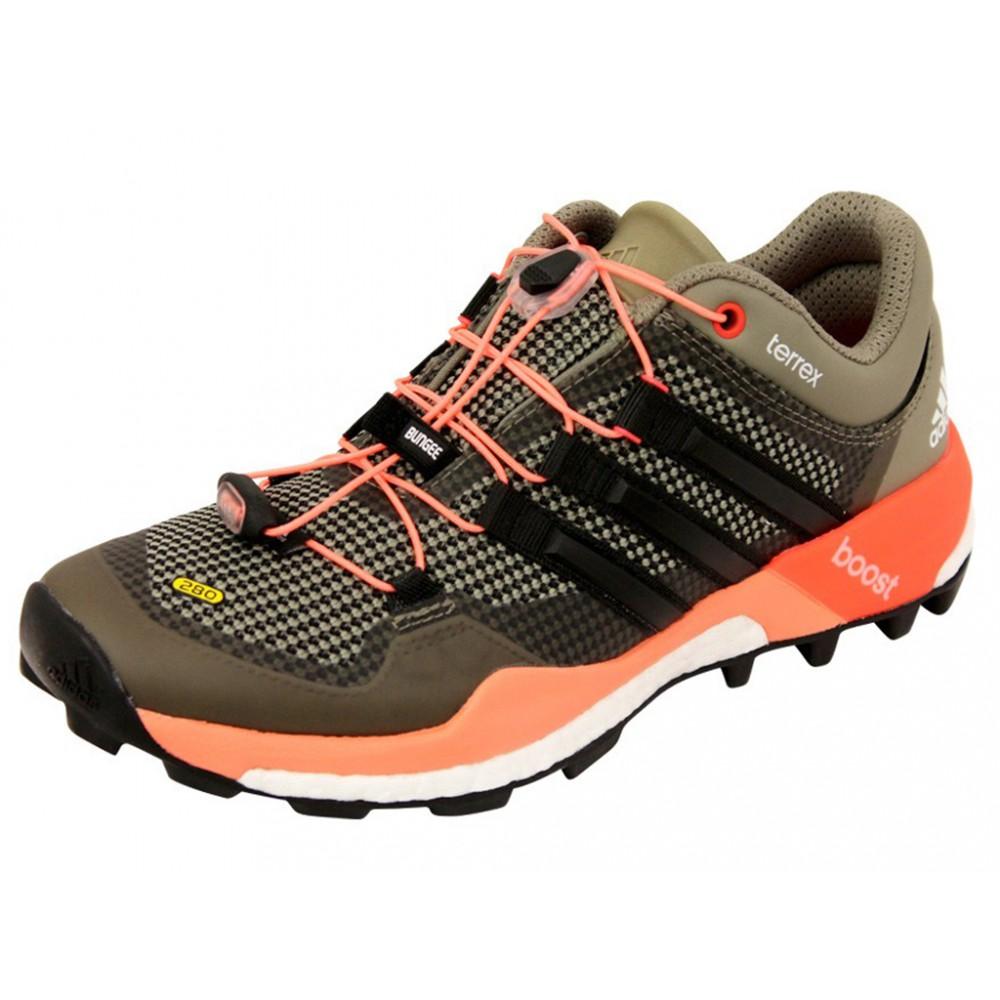 Détails sur TERREX BOOST W GRI Chaussures Trail Femme Adidas Gris