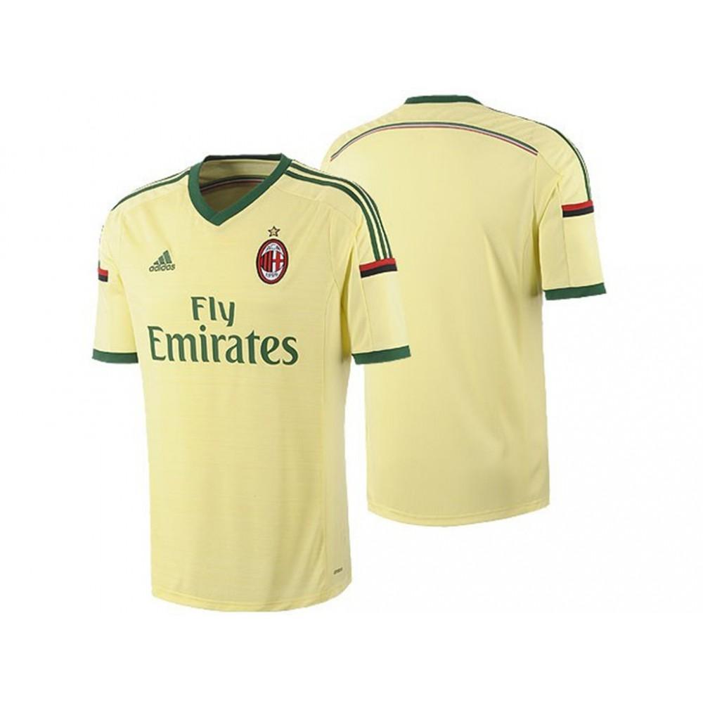 Détails sur ACM 3 JSY JNE Maillot Football Milan AC Homme Adidas Vert