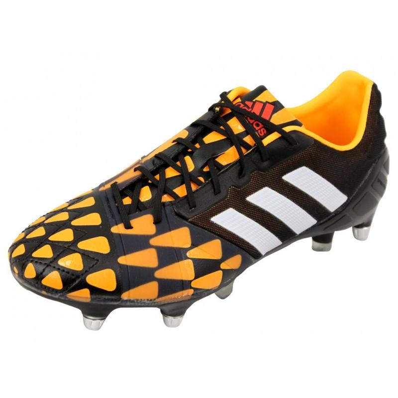 the best attitude b51b0 f5305 NITROCHARGE 1.0 SG BKO- Chaussures Football Homme Adidas