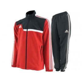 TIRO13 PRE SUIT RED - Survêtement Football Homme Adidas