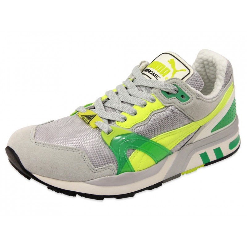 76a7a892f6d66 TRINOMIC XT2 PLUS LIST GRI - Chaussures Homme Puma - Baskets