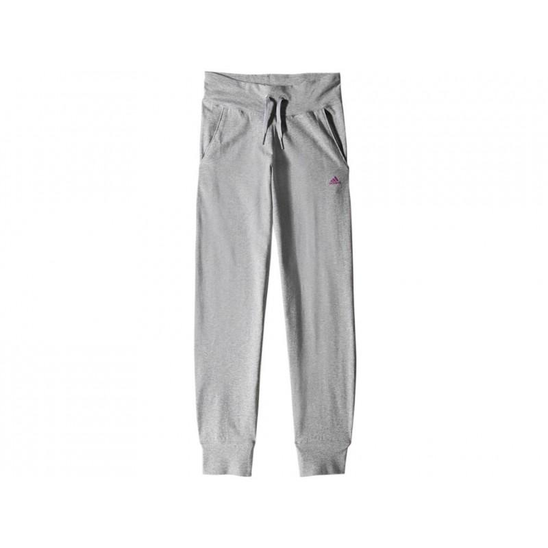 YG W HSJ PANT GRY - Pantalon Fille Adidas