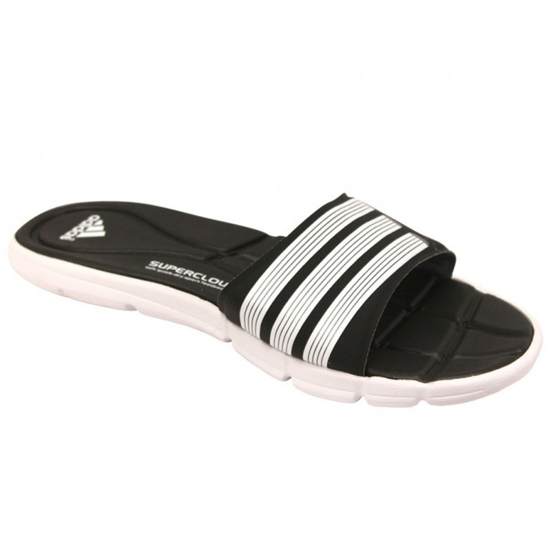 adipure 360 slide w blk claquettes natation femme adidas sandal. Black Bedroom Furniture Sets. Home Design Ideas