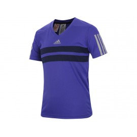 YB BARRICADE TEE VIO - Tee shirt Tennis Garçon Adidas