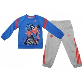 TO DY SPIDERMAN BLU - Ensemble Bébé Garçon Adidas