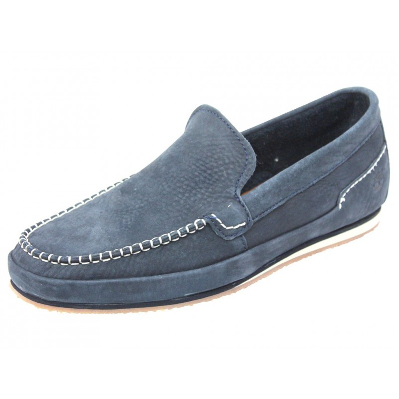 M Chaussures Timberland LOAFER BLU Homme NEW 6YyvIbgf7