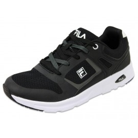 NEWMAN LOW M BLK - Chaussures Homme Fila