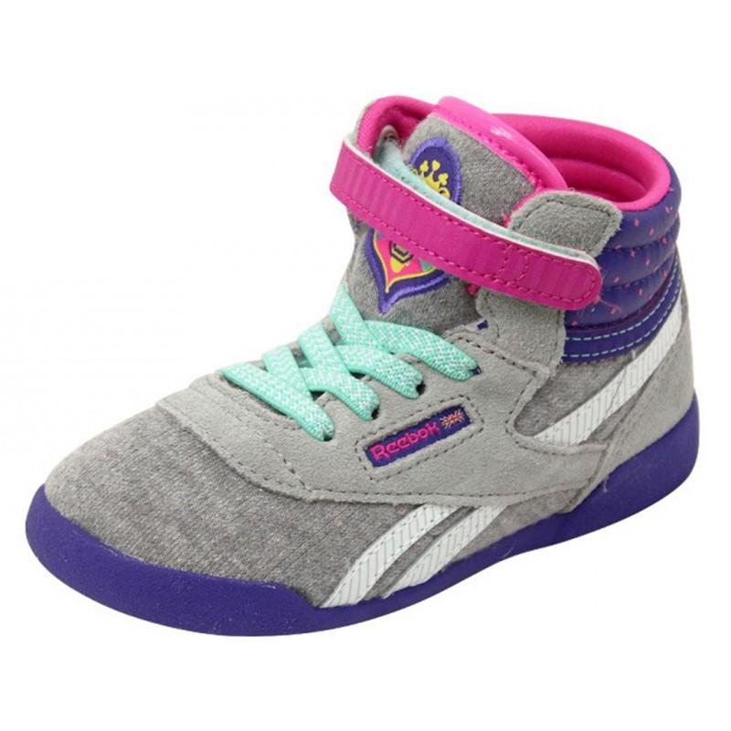 30bb6335c380f SOFIA F S BB GRI - Chaussures Bébé Fille Reebok - Bébé du 16 au 23
