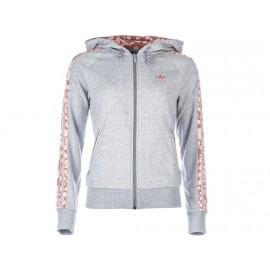 HOODED FLOCK GRY - Veste Femme Adidas