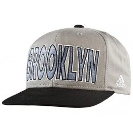 FLAT CAP NETS GRY - Casquette Nets Basketball Homme Adidas