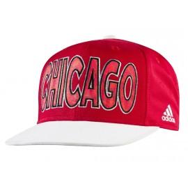 FLAT CAP BULLS RED - Casquette Chicago Bulls Basketball Homme Adidas