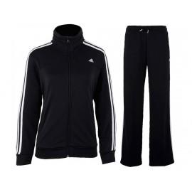 ESS 3S KNIT SUIT W BLK - Survêtement Femme Adidas