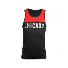 BULLS SMR REN TANK RED - Débardeur Chicago Bulls Basketball Homme Adidas