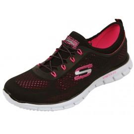 GLIDER HARMONY BHK - Chaussures Running Femme Skechers
