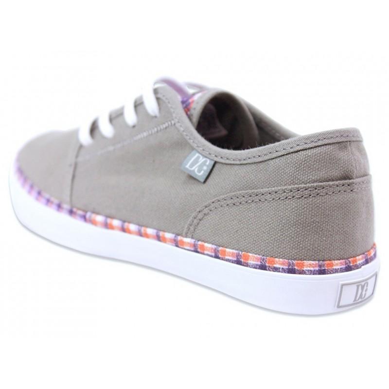 studio ltz gry chaussures femme dc shoes baskets. Black Bedroom Furniture Sets. Home Design Ideas